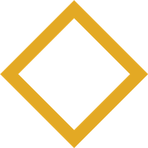 Yellow square icon, a piece of the Centre for Health Innovation logo