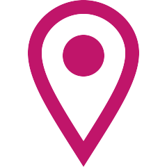 Pink placement icon