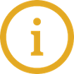 Yellow information icon